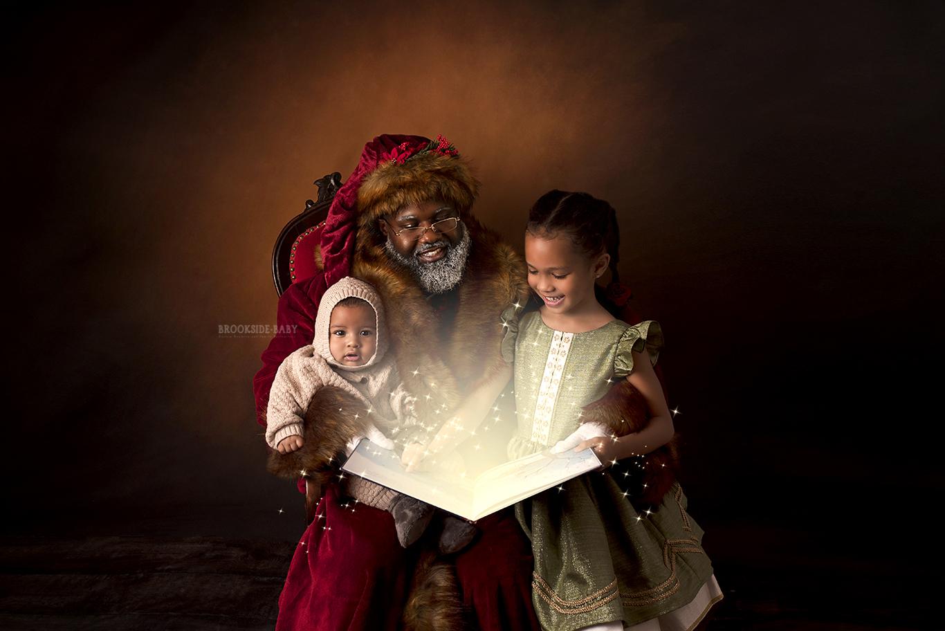 Gisela & Julian's Story With Santa Brookside Baby
